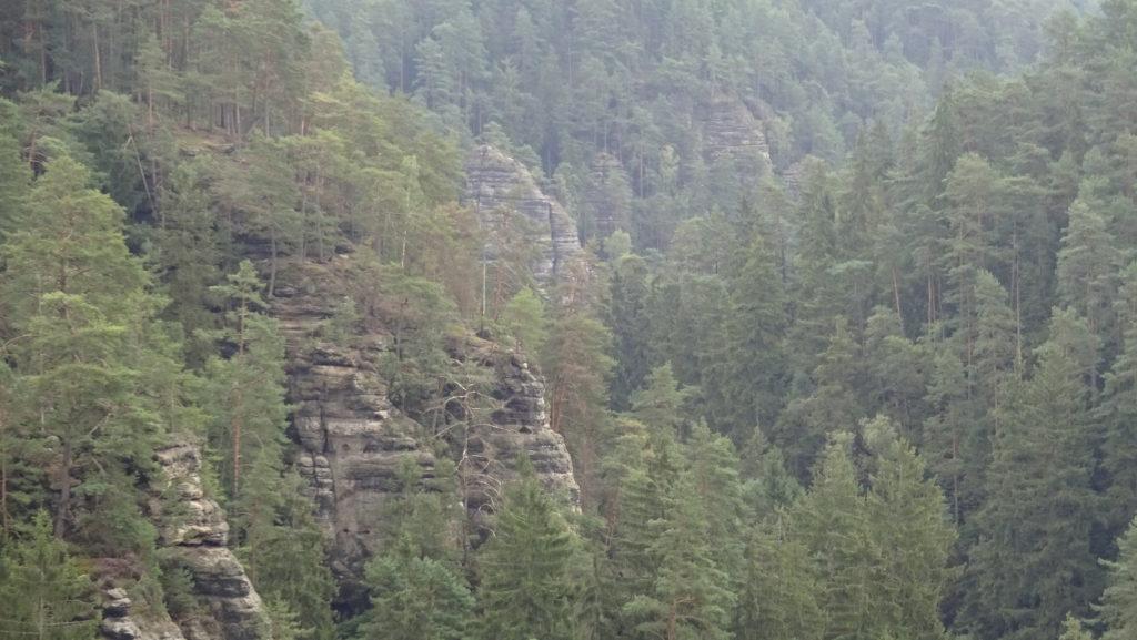 Czeska Szwajcaria - Dolsky mlyn i Rużovsky vrch - dzień 1 Ciekawe miejsca Czechy Relacje