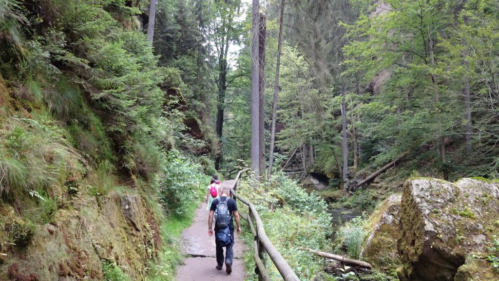 Czeska Szwajcaria - Pravćicka Brana - dzień 2 Ciekawe miejsca Czechy Relacje