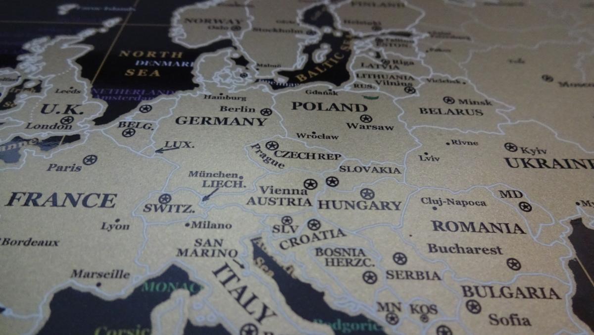 Mapa Świata Zdrapka - gadżet dla każdego Blog Gadżety i Testy